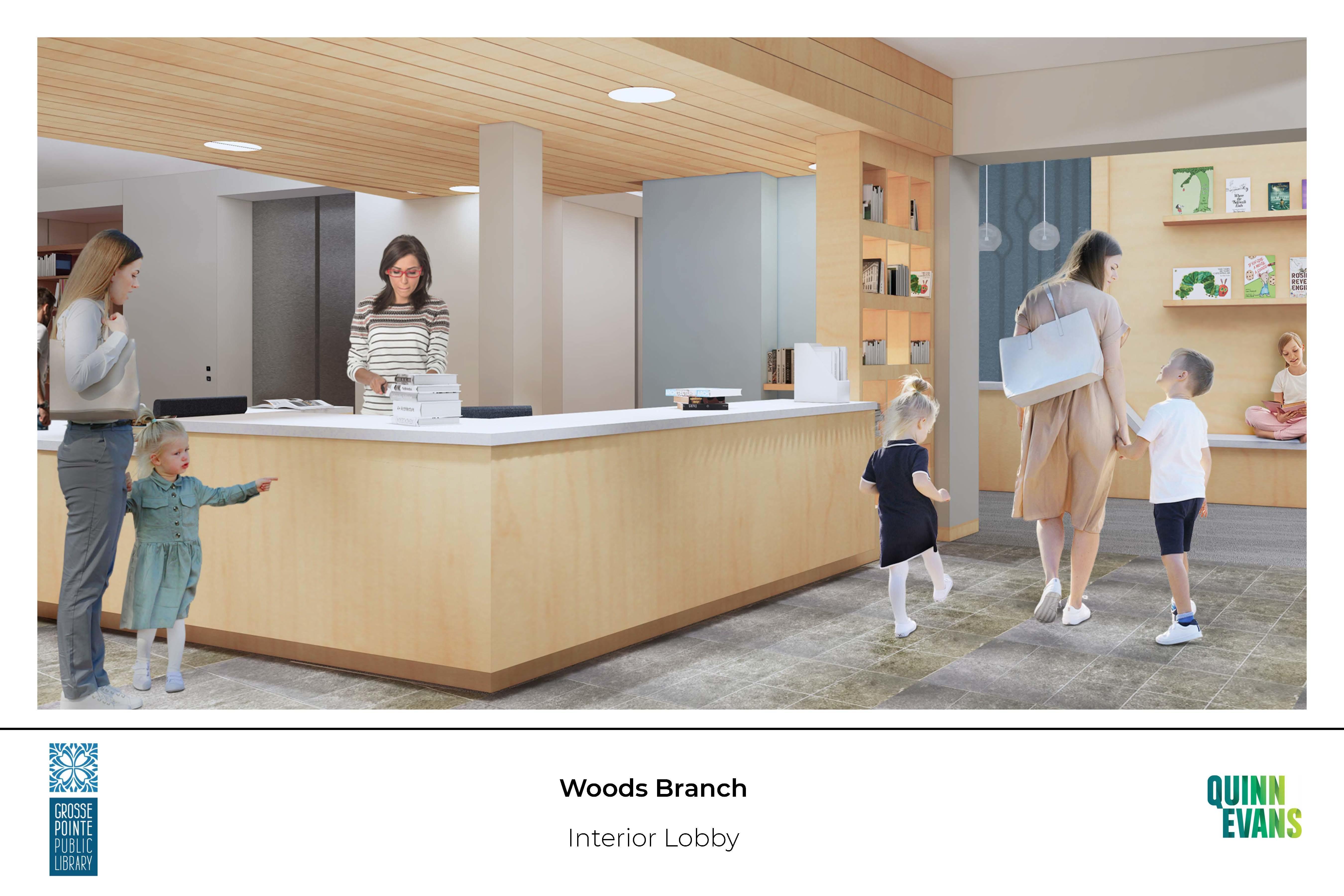 Woods New Service Desk