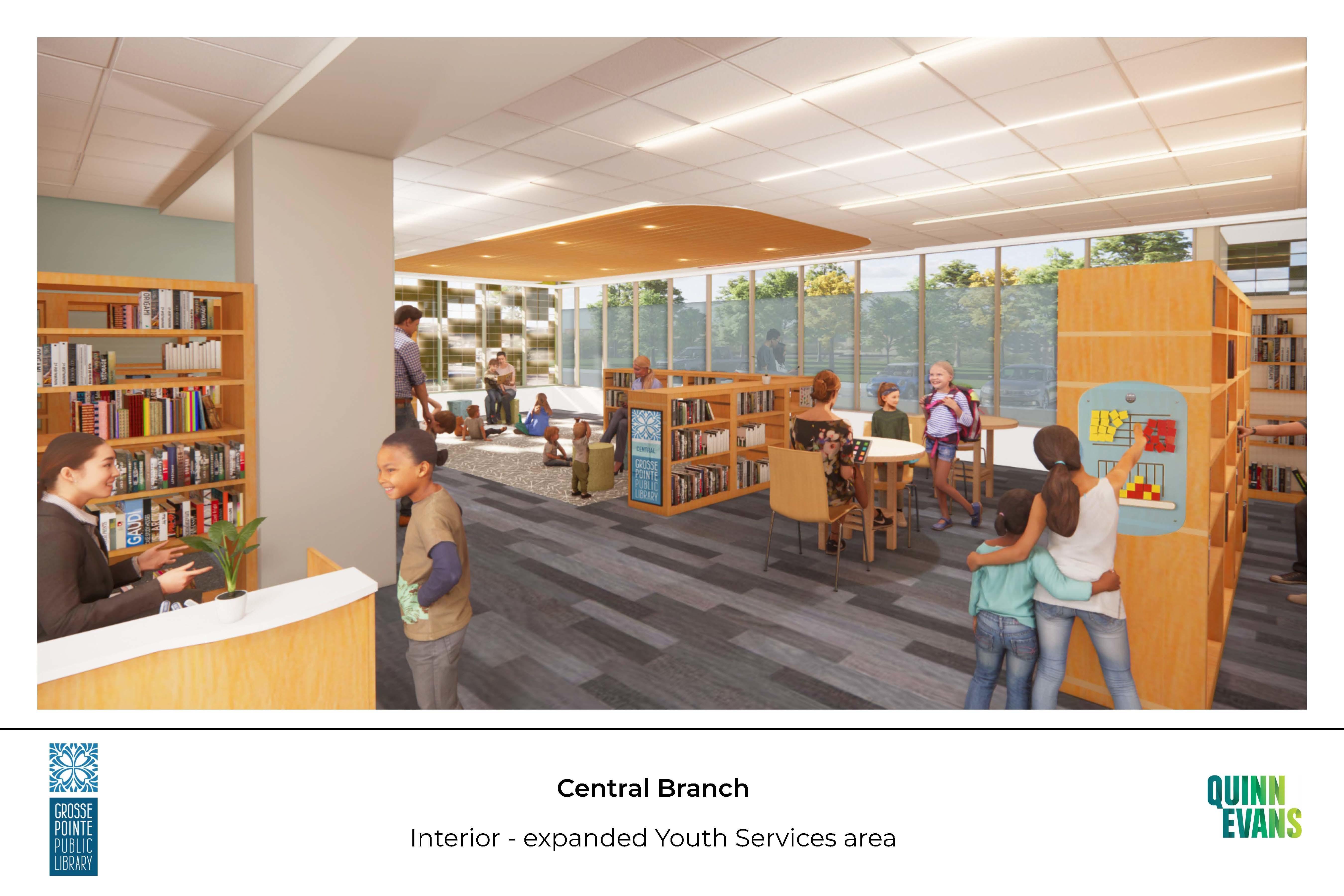 Central Branch New Children's Area
