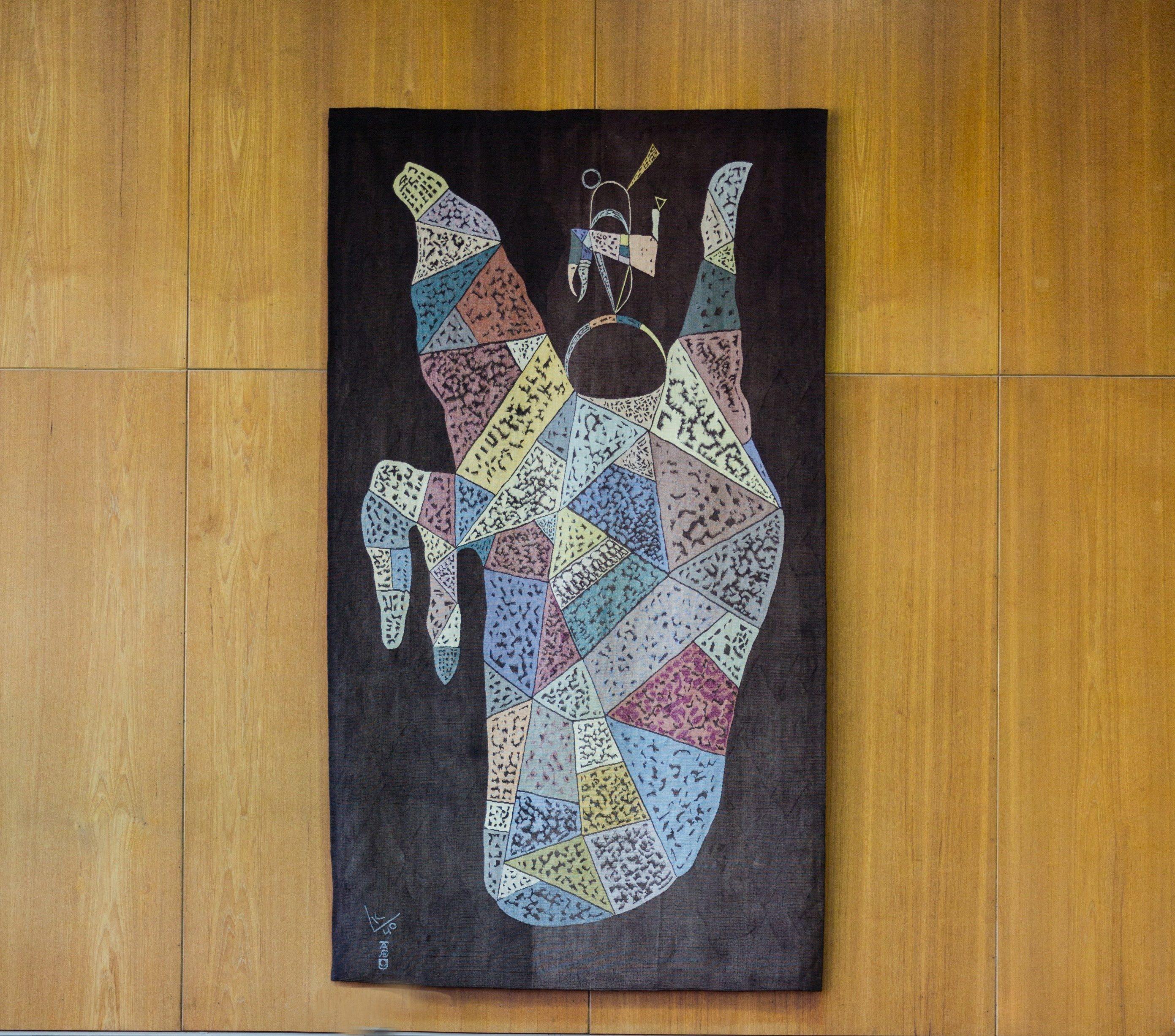Kandinsky tapestry